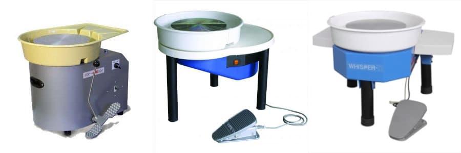 3 modèle de tour de potier électrique SHIMPO