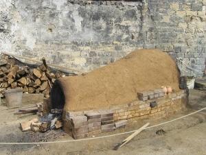 four céramqiue à bois