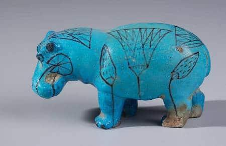 email ceramique bleu egyptien