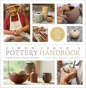 Simon Leach's pottery hand