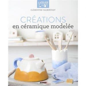 créations en ceramique modelee livre