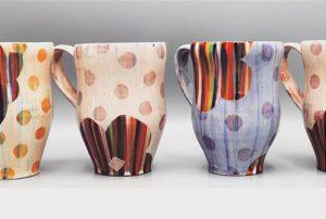 décor engobe avec réserve ceramique