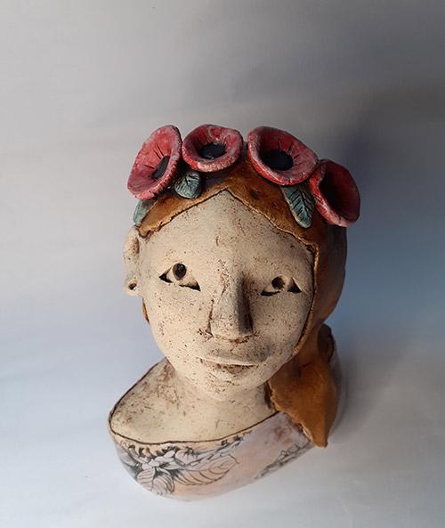 sculpture engobe ceramique
