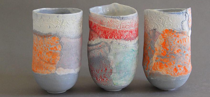 technique decor ceramique