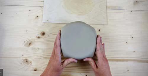 moule plâtre estampage